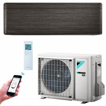 Conditioner STYLISH FTXA50AT+RXA50A blackwood A++ 50m2 18000BTU Inverter