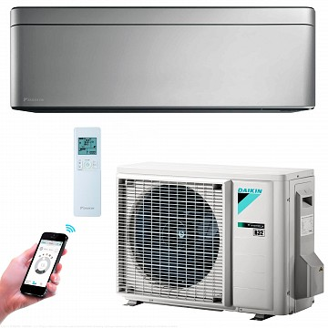 Conditioner STYLISH FTXA35AS+RXA35A silver A++ 35m2 12000BTU Inverter